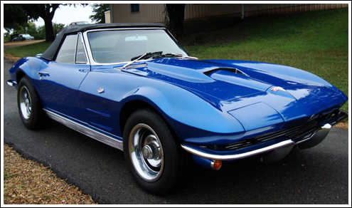 Chevrolet Corvette 1963 67 Convertible Top And Parts