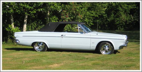 1963 Dodge Dart Convertible Tops and Convertible Top Parts