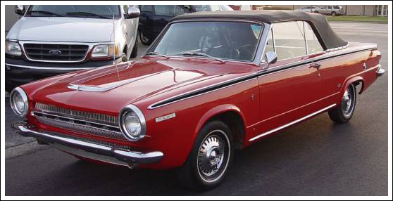 1964-65 Dodge Dart Convertible Tops and Convertible Top Parts