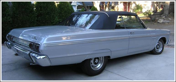 1964 65 Plymouth Fury Sports Fury Belevedere Ii