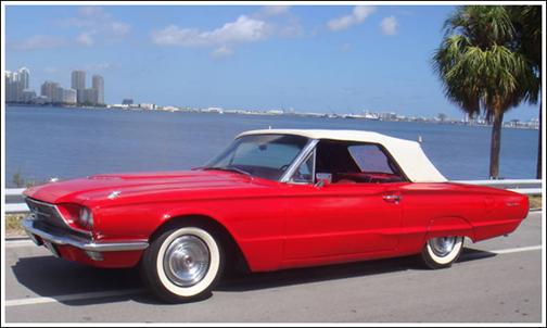 1964-66 Ford Thunderbird Convertible Tops and Convertible ...