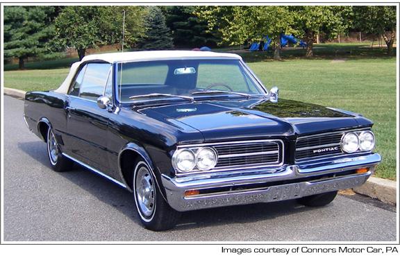 1964 65 Pontiac Lemans Tempest Convertible Tops And Convertible