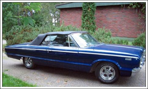 1965-66 Dodge Polara, Monaco & Custom 880 Convertible Tops and ...
