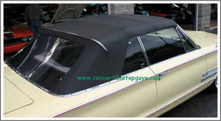 1965 66 Chrysler 300 Amp Newport Convertible Tops And