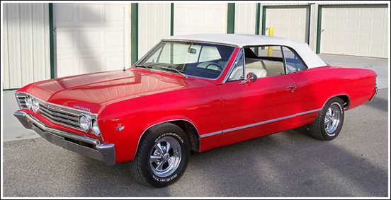 1966 67 Chevrolet Chevelle Amp Malibu Convertible Tops And