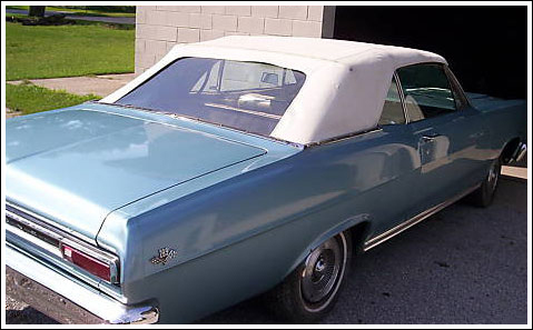 1966-67 Mercury Comet, Caliente & Cyclone Convertible Tops