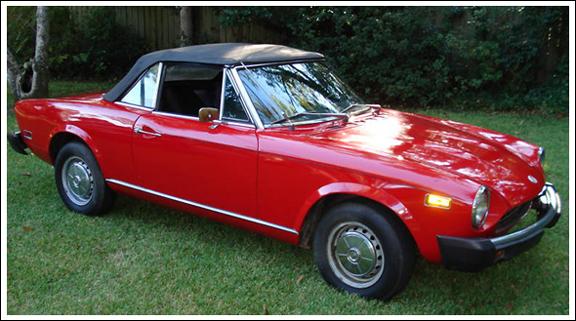 1966 Early 1979 Fiat 124 Cs1 Sports Roadster 1600 1800