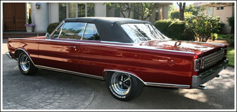 1966 Plymouth Belvedere Gtx Satellite B Body