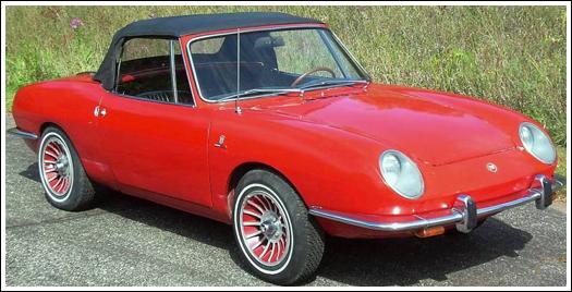Fiat 850 convertible
