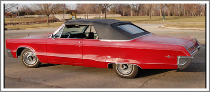 1967 Chrysler 300 & Newport Convertible Tops and ...