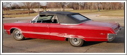 1967 Chrysler 300 Amp Newport Convertible Tops And