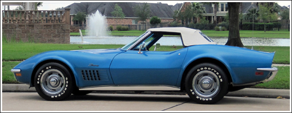Chevrolet Corvette 1968 75 Convertible Top And Parts