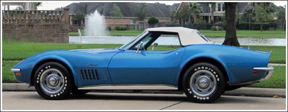 1968 75 Chevrolet Corvette Convertible Tops And