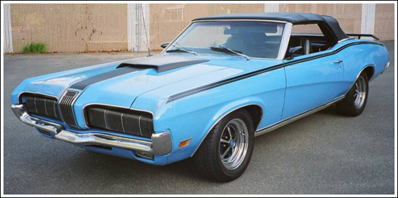 1969-70 Mercury Cougar - old Convertible Tops and ... on