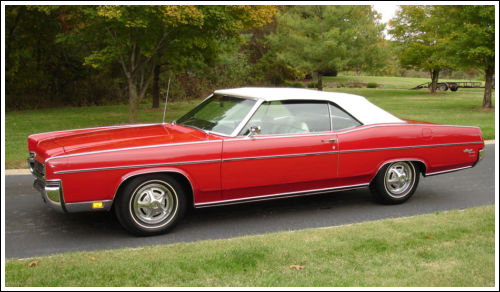 1969-72 Mercury Monterey & Marquis Convertible Tops and ...