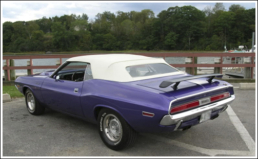 1970 Challenger Convertible. Dodge Challenger Key Features: