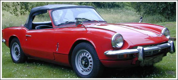 1970 71 Triumph Spitfire Mark Iii Convertible Tops And