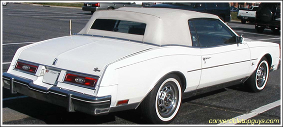 198286 Buick Riviera ASC ONLY Convertible Tops and Convertible