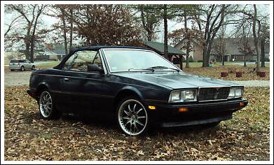 1986-89 Maserati Bi-turbo & Zagato Spider Convertible Tops and ...