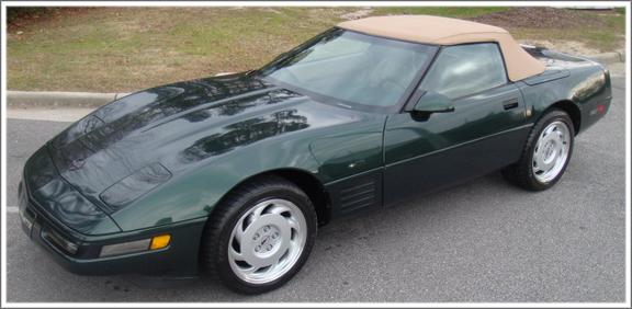 1986 93 Chevrolet Corvette Convertible Tops And