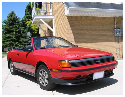 1987 89 Toyota Celica Asc Convertible Tops And
