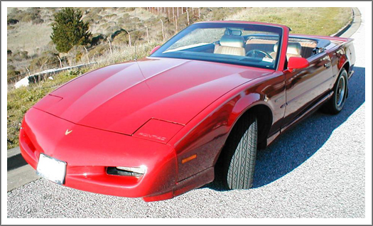 Pontiac Firebird Trans Am 1988 Late 1991 Convertible Top And Parts