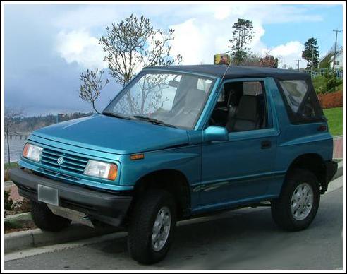 1988 94 Suzuki Sidekick Convertible Tops And Convertible