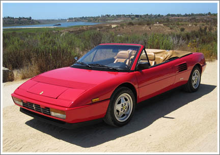 1984 94 ferrari mondial convertible tops and convertible. Black Bedroom Furniture Sets. Home Design Ideas