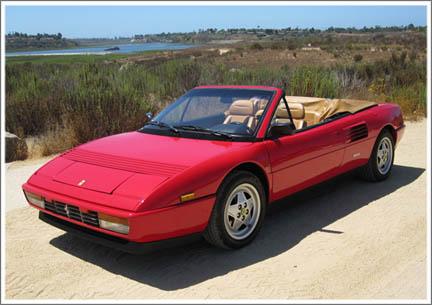 1984-94 Ferrari Mondial Convertible Tops and Convertible Top Parts