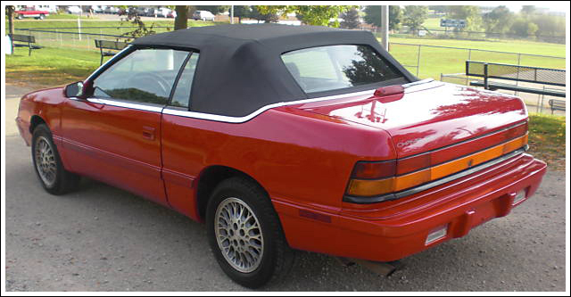 1990-95 Chrysler Lebaron Convertible Top and Convertible Top Parts