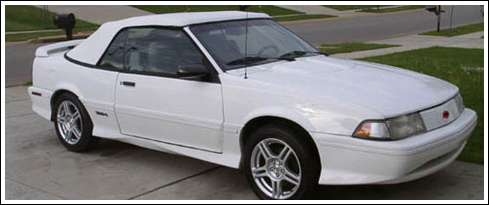 Late 1993 To 1994 Chevrolet Cavalier Convertible Tops And