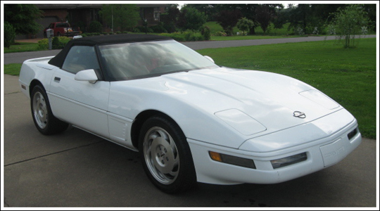 1994 96 Chevrolet Corvette Convertible Tops And