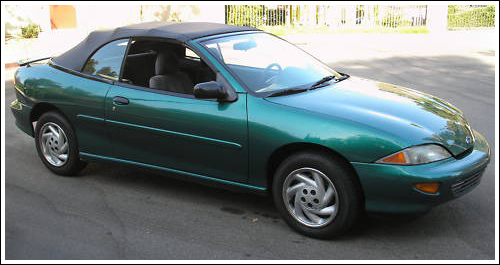 1995-Mid 1998 Chevrolet Cavalier Convertible Tops and Convertible Top ...