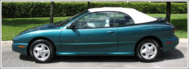 Pontiac Sunfire 1995 Mid 1998 Convertible Top And Parts
