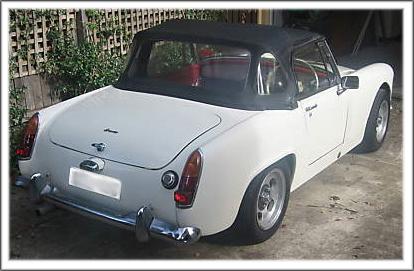 1964 66 Austin Healey Sprite Mark Iii Convertible Tops And