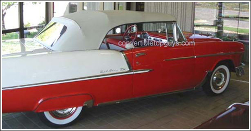1955-57 Chevrolet Belair Convertible Tops and Convertible ... on