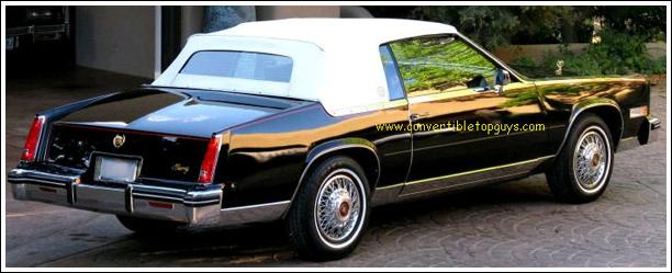 1982 86 Cadillac Eldorado Asc Conversion Convertible