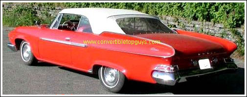 1960 61 Dodge Polara Amp Dart Phoenix Convertible Tops And