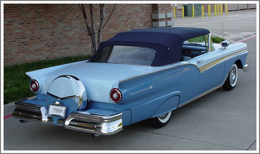 Ford Fairlane Sunliner 1957 58 Convertible Top And Parts