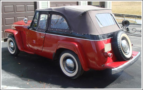 1948 52 Willys Jeepster Convertible Tops And Convertible