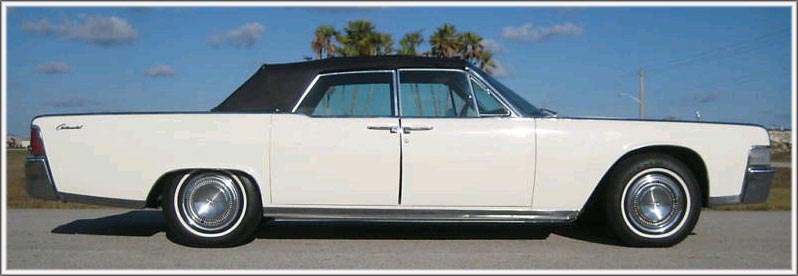 1964-65 Lincoln Continental 4 Door Convertible Tops and Convertible