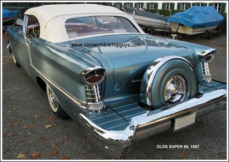 1957 oldsmobile parts
