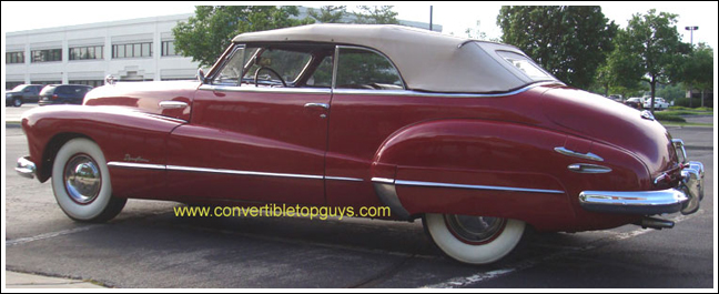 1942 47 Oldsmobile 98 Convertible Tops And Convertible Top