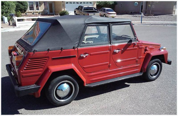 1973 1974 Volkswagen Thing Convertible Tops And