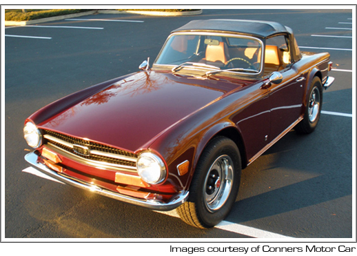 1969 76 Triumph Tr6 Convertible Tops And Convertible Top Parts