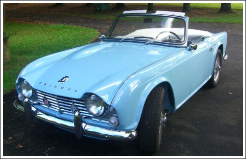 1961 1965 Triumph Tr4 Convertible Tops And Convertible Top