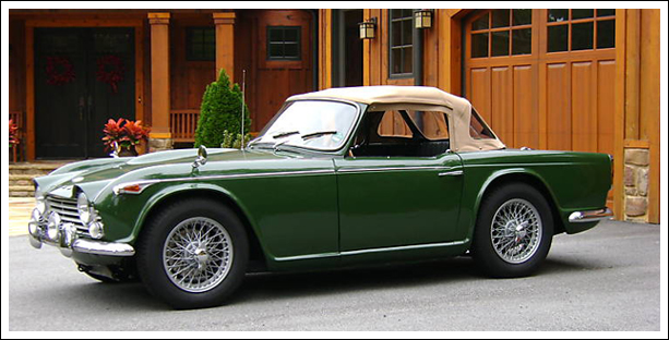 1966 67 Triumph Tr4a Convertible Tops And Convertible Top