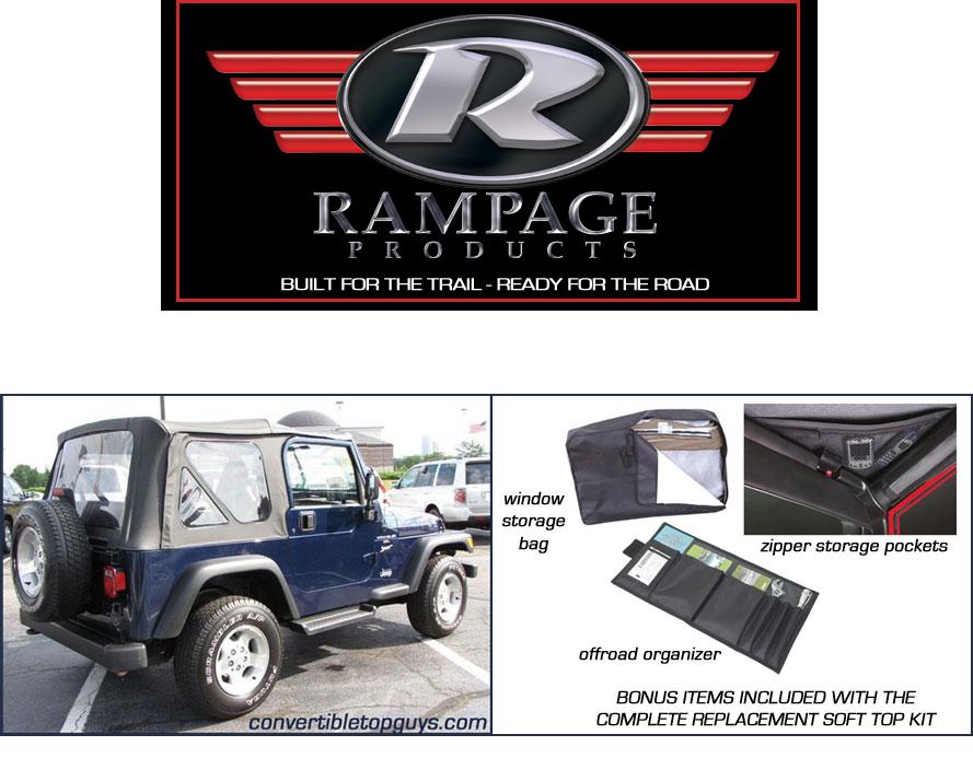 Jeep Wrangler, 1997 06. Convertible Top And Convertible Top Parts