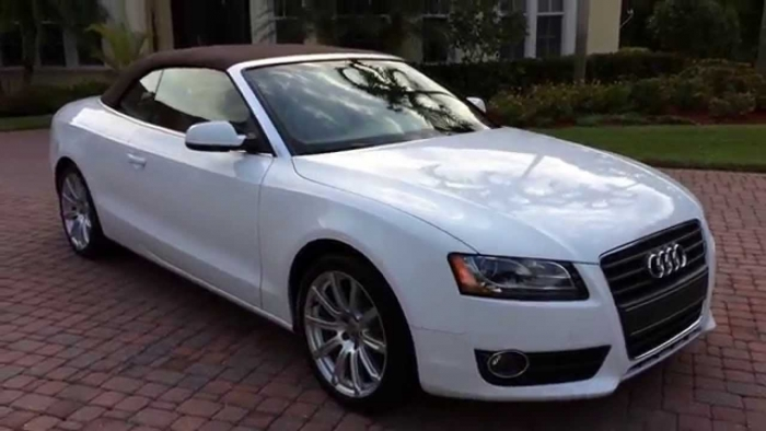 2010 2017 Audi A5 A5 Quattro S5 Cabriolet Convertible Tops And