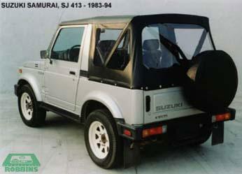 1983 94 Suzuki Samurai Convertible Tops And Convertible
